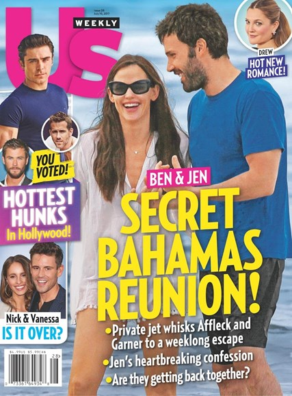 Us Weekly Cover - 7/10/2017