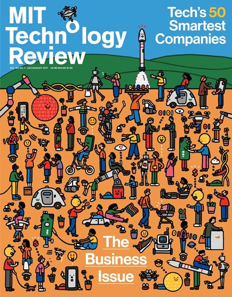 MIT Technology Review Cover - 7/1/2017