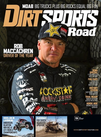Dirt Sports & Off-Road Cover - 9/1/2017
