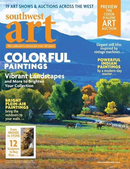 Southwest Art Cover - 7/1/2017