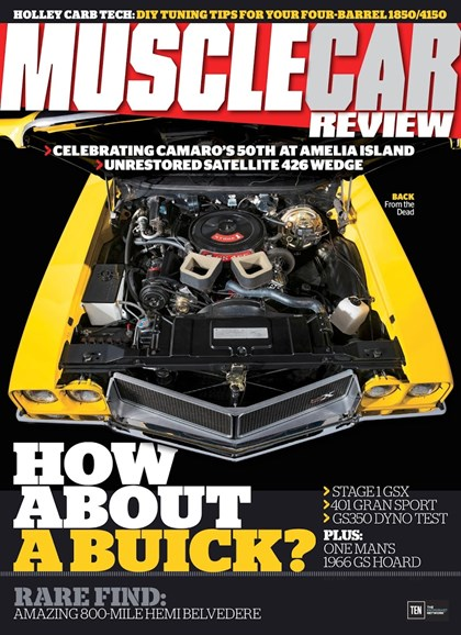 Muscle Car Review Cover - 7/1/2017