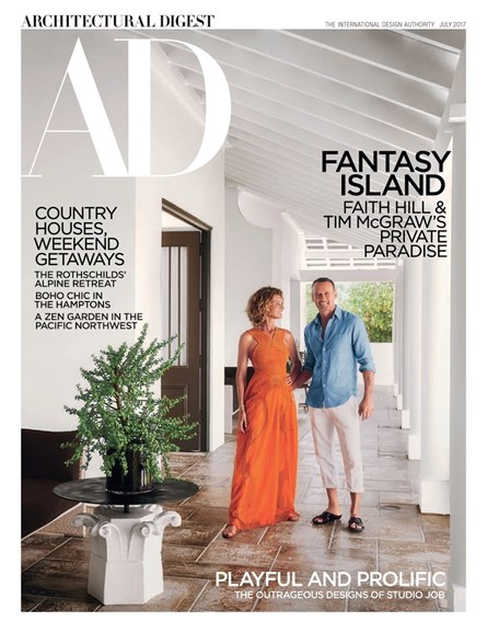 Architectural Digest Cover - 7/1/2017