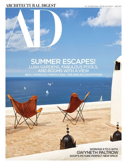 Architectural Digest Cover - 6/1/2017