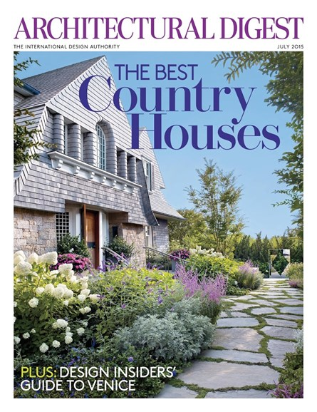 Architectural Digest Cover - 7/1/2015