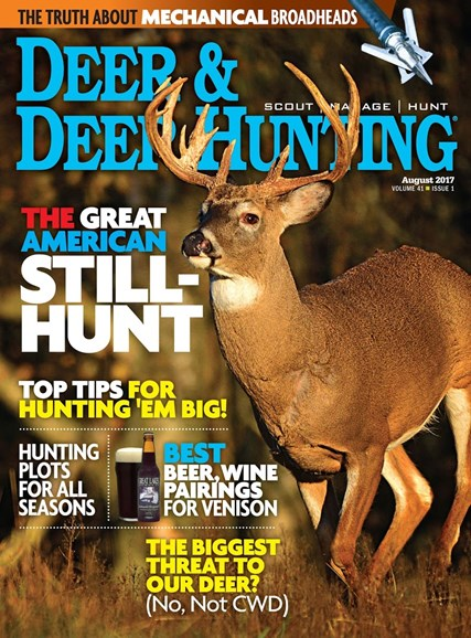 Deer & Deer Hunting Cover - 8/1/2017