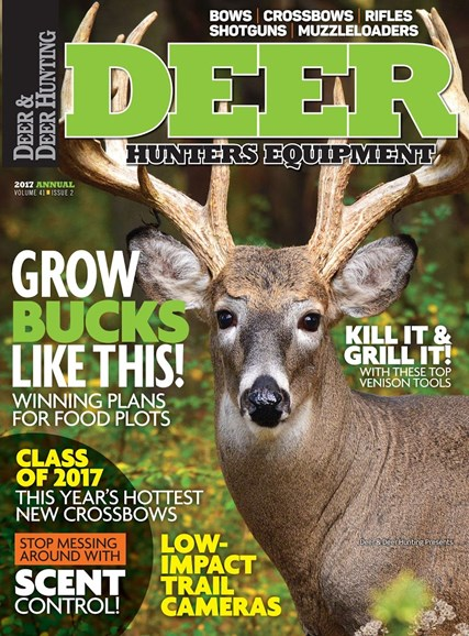 Deer & Deer Hunting Cover - 8/30/2017