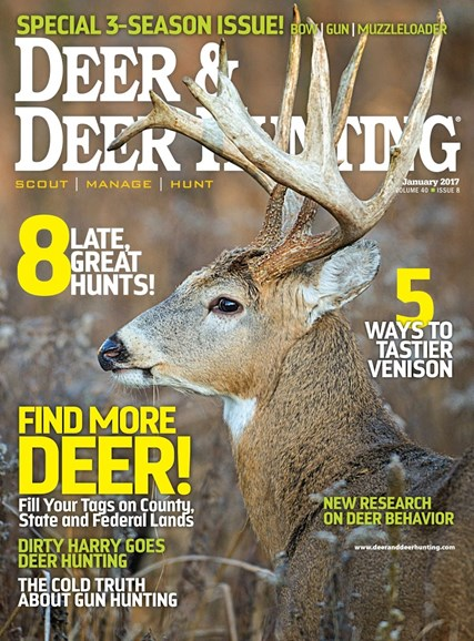 Deer & Deer Hunting Cover - 1/1/2017