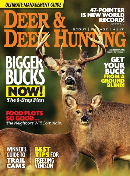 Deer & Deer Hunting Cover - 7/1/2017