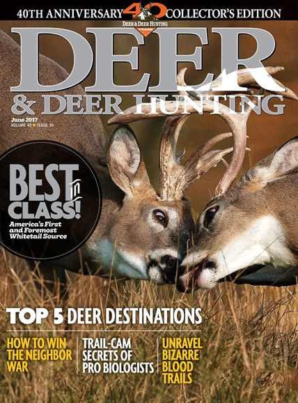 Deer & Deer Hunting Cover - 6/1/2017