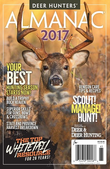 Deer & Deer Hunting Cover - 9/30/2016