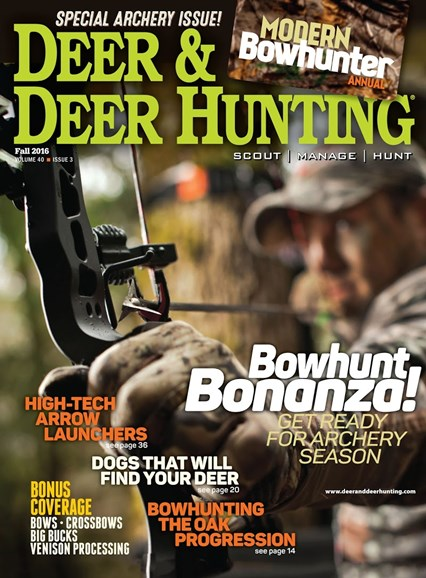 Deer & Deer Hunting Cover - 8/30/2016