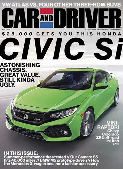 Car And Driver Cover - 8/1/2017