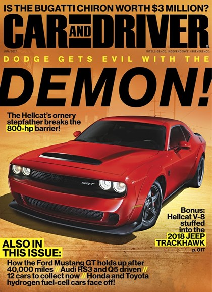 Car And Driver Cover - 6/1/2017