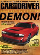 Car And Driver Magazine 6/1/2017
