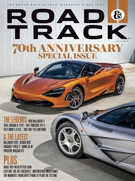 Road & Track Cover - 7/1/2017