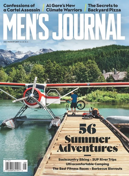 Men's Journal Cover - 7/1/2017