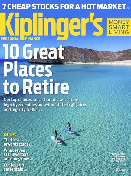 Kiplinger's Personal Finance Cover - 8/1/2017