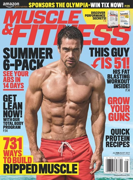 Muscle & Fitness Cover - 7/1/2017