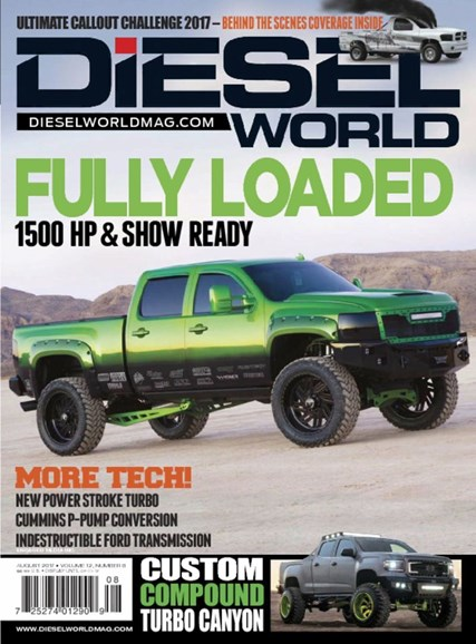 Diesel World Cover - 8/1/2017