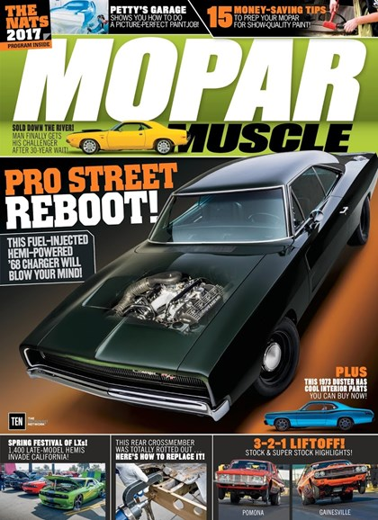 Mopar Muscle Cover - 9/1/2017
