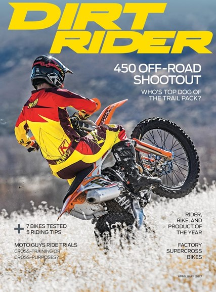 Dirt Rider Cover - 4/1/2017