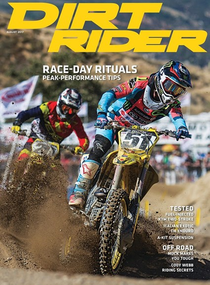 Dirt Rider Cover - 8/1/2017