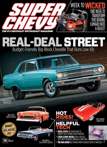 Super Chevy Cover - 8/1/2017