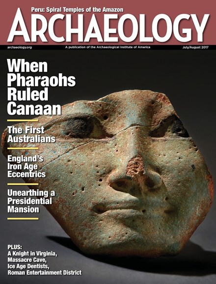 Archaeology Cover - 7/1/2017