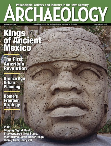 Archaeology Cover - 3/1/2017