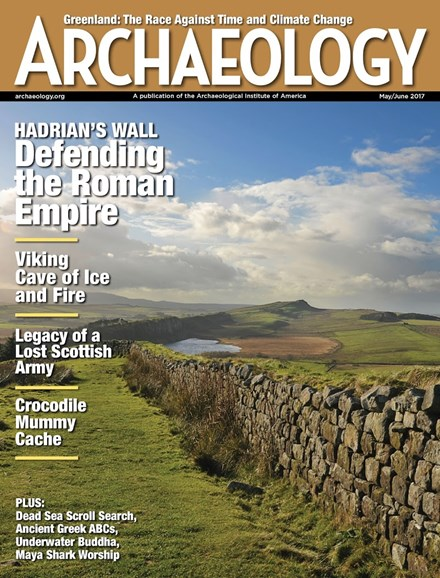 Archaeology Cover - 5/1/2017