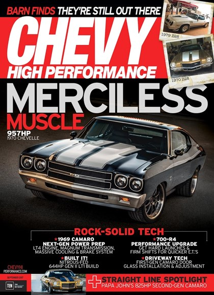 Chevy High Performance Cover - 9/1/2017