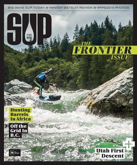 SUP Magazine Cover - 12/1/2016