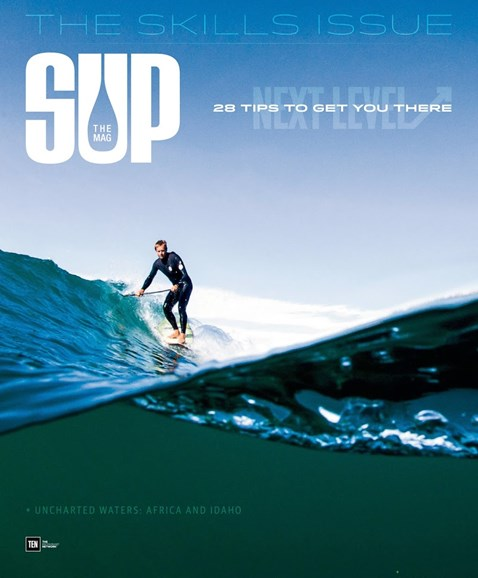 SUP Magazine Cover - 6/1/2017