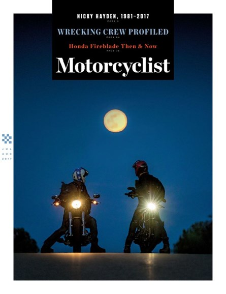 Motorcyclist Cover - 7/1/2017