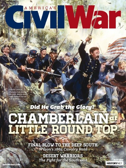 America's Civil War Cover - 7/1/2017