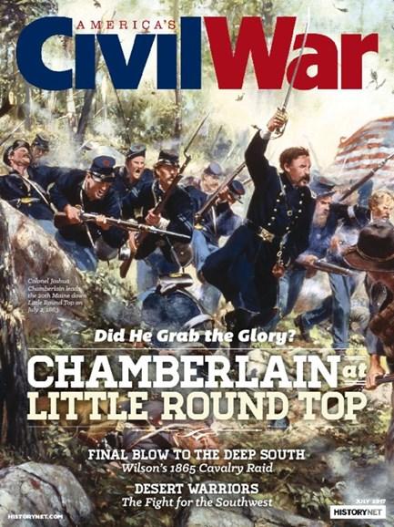 America's Civil War Cover - 7/1/2017