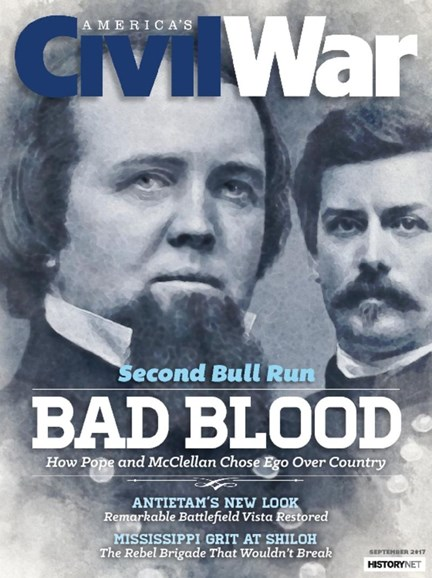 America's Civil War Cover - 9/1/2017
