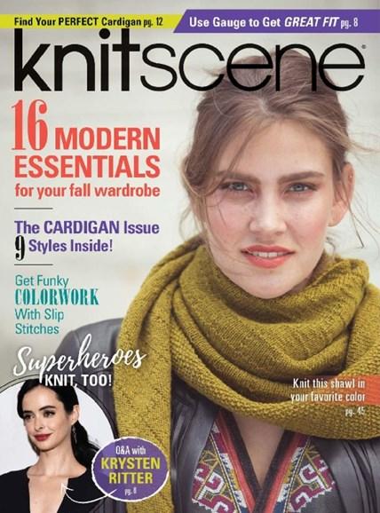 Knitscene Cover - 9/1/2017
