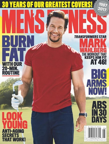 Men's Fitness Cover - 7/1/2017