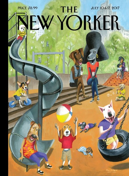 The New Yorker Cover - 7/10/2017