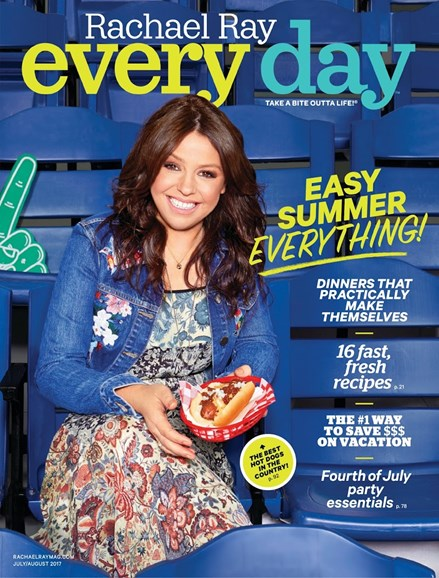 Rachael Ray Every Day Cover - 7/1/2017