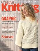 Creative Knitting Magazine 9/1/2017