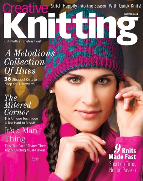 Creative Knitting Cover - 12/1/2014