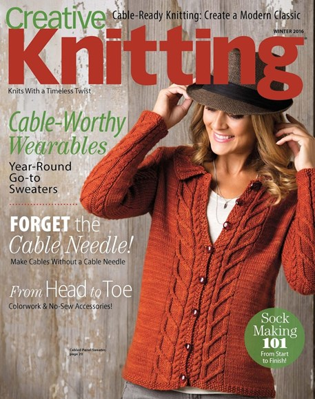 Creative Knitting Cover - 12/1/2016