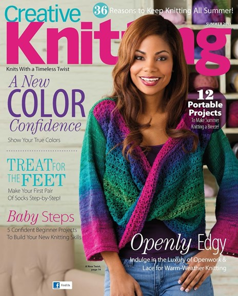 Creative Knitting Cover - 6/1/2013