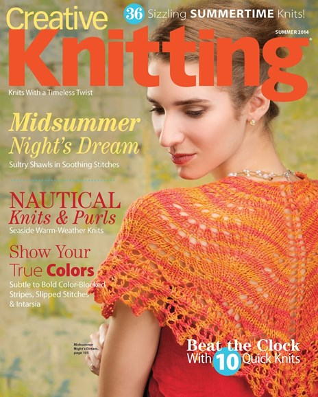 Creative Knitting Cover - 6/1/2014