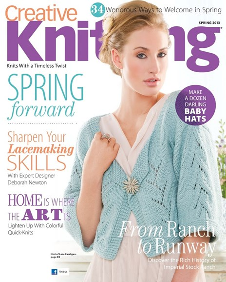 Creative Knitting Cover - 3/1/2013