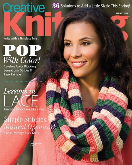 Creative Knitting Cover - 3/1/2014