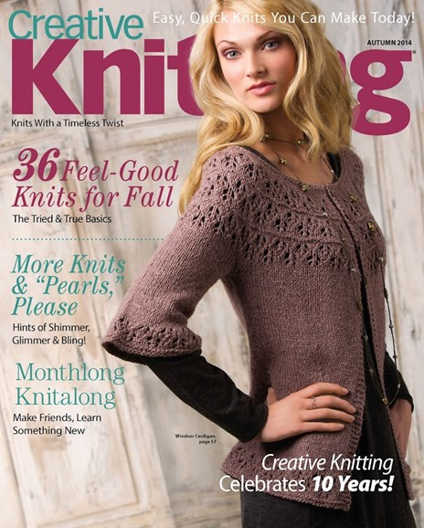 Creative Knitting Cover - 9/1/2014