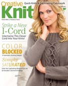 Creative Knitting Magazine 9/1/2016